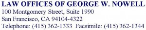 Law Offices of George W. Nowell